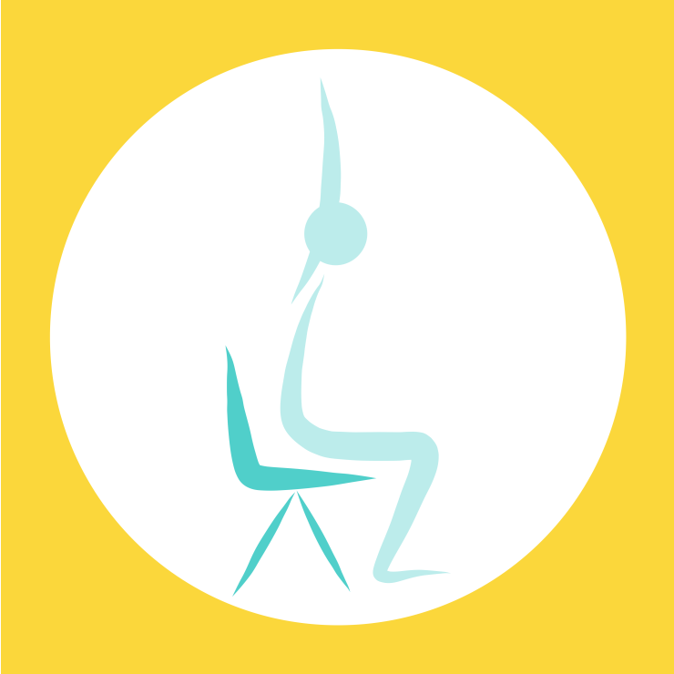 Everybody can enjoy yoga with this chair-based version designed to maintain the body supple and the mind calm.